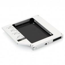 "Салазки Agestar для замены привода в ноутбуке 12.7 мм на 2.5"" HDD/SSD SATA ( SSMR2S )"