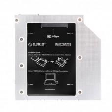 "Салазки Orico для замены привода в ноутбуке 9.5мм на 2.5"" HDD/SSD SATA3 ( L95SS )"