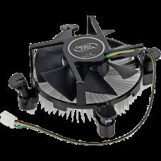 Устройство охлаждения(кулер) Deepcool 775/1156/1155/1150/1151 82Вт, вент-р 100x25mm, на винтах, низкопрофильный ( CK-11509 )