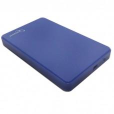 "Корпус для HDD 2.5"" SATA-USB2.0 Gembird EE2-U2S-40P-B, синий"