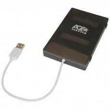 "Корпус для HDD 2.5"" SATA-USB2.0 AgeStar SUBCP1 Black"