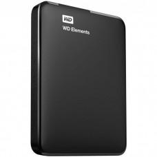 """Внешний жесткий диск USB3.0 2.5"""" 1.0Тб WD Elements Portable ( WDBUZG0010BBK-WESN ) Черный"""
