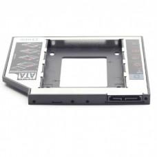 """Салазки Gembird для замены привода в ноутбуке 12.7 мм на 2.5"""" HDD/SSD SATA ( MF-95-02 )"""