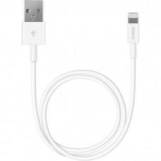 Кабель для Apple Lightning Deppa 1.2 м белый 72114