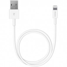 Кабель для Apple Lightning Deppa 3м белый (72230)