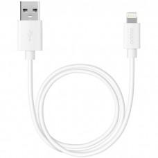 Кабель для Apple Lightning Deppa 2 м белый 72223