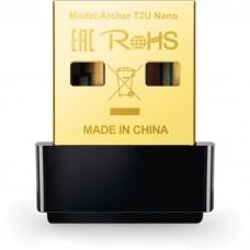 Беспроводной USB адаптер TP-Link Archer T2U Nano 802.11ac 200+433Mbps