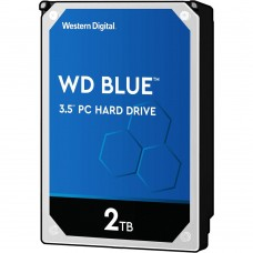 "Жесткий диск 3.5"" SATA3 2Тб WD Blue Desktop 5400rpm 256mb ( WD20EZAZ ) OEM"