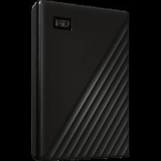 """Внешний жесткий диск USB3.0 2.5"""" 1.0Тб WD My Passport ( WDBYVG0010BBK-WESN ) Черный"""