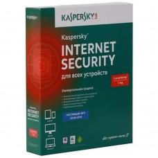 Антивирус Лаборатория Касперского Kaspersky Internet Security Multi-Device Russian Edition 3ПК 1 год Base Box ( KL1939RBCFS )