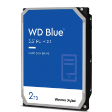 "Жесткий диск 3.5"" SATA3 2Тб WD Blue Desktop 7200rpm 256mb ( WD20EZBX ) OEM"